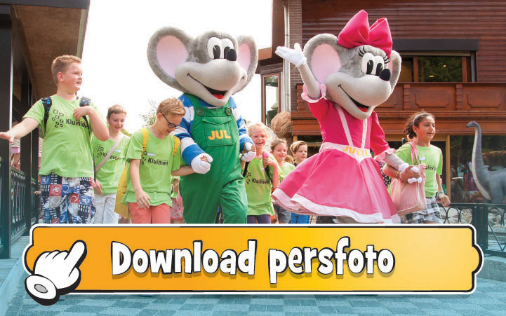 Download persfoto Jul & Julia Schoolreisje